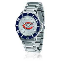Men's 46mm NFL Chicago Bears Stainless Steel Key Watch, , default