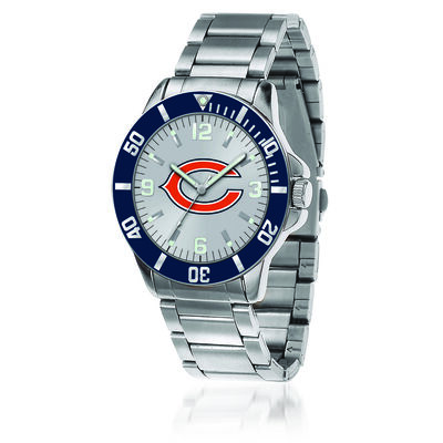 Men's 46mm NFL Chicago Bears Stainless Steel Key Watch, , default
