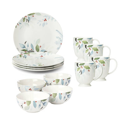 "Lenox ""Frosted Pines"" Dinnerware, , default"