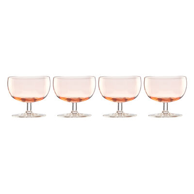 "Lenox ""Valencia"" Set of 4 Peach Cocktail Glasses, , default"