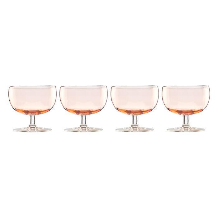 "Lenox ""Valencia"" Set of 4 Peach Cocktail Glasses, , default"