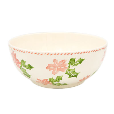 "Euro Ceramica ""Natal"" Serving Bowl, , default"