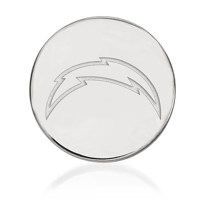 Sterling Silver NFL Los Angeles Chargers Lapel Pin, , default