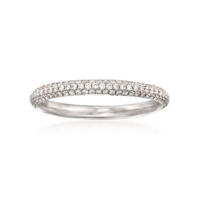 .43 ct. t.w. Diamond Wedding Band in 18kt White Gold