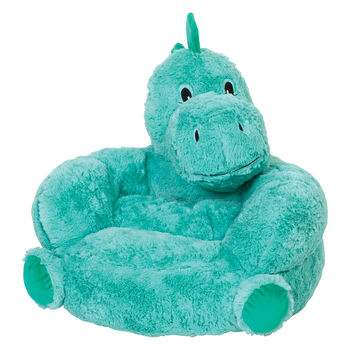 Children's Plush Dinosaur Chair, , default