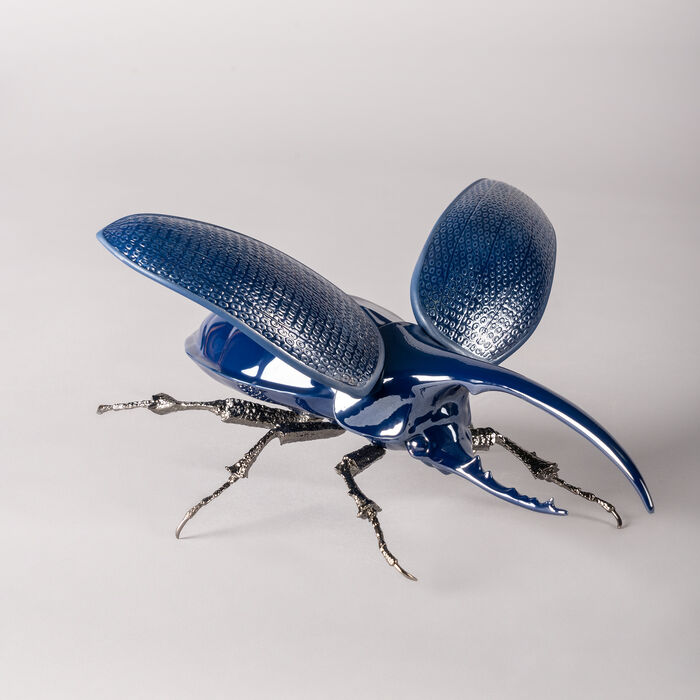 "Lladro ""Hercules Beetle"" Porcelain Figurine, , default"