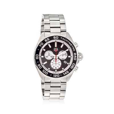 TAG Heuer Formula 1 Men's 43mm Chronograph Stainless Steel Watch - Black Dial, , default
