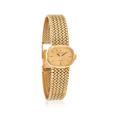 Certified Preowned Rolex Orchid Women's 18mm Watch in 18kt Yellow Gold, , default