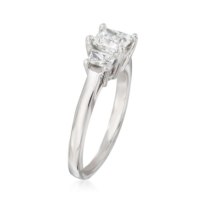 1.39 ct. t.w. Diamond Ring in 14kt White Gold