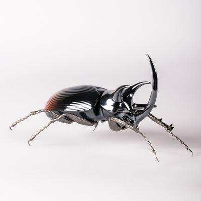 """Lladro """"Rhinoceros Beetle"""" Porcelain Figurine, , default"""