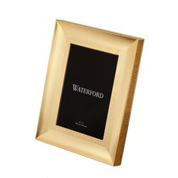 "5x7 Photo - Waterford ""Lismore Diamond"" Goldtone Frame, , default"
