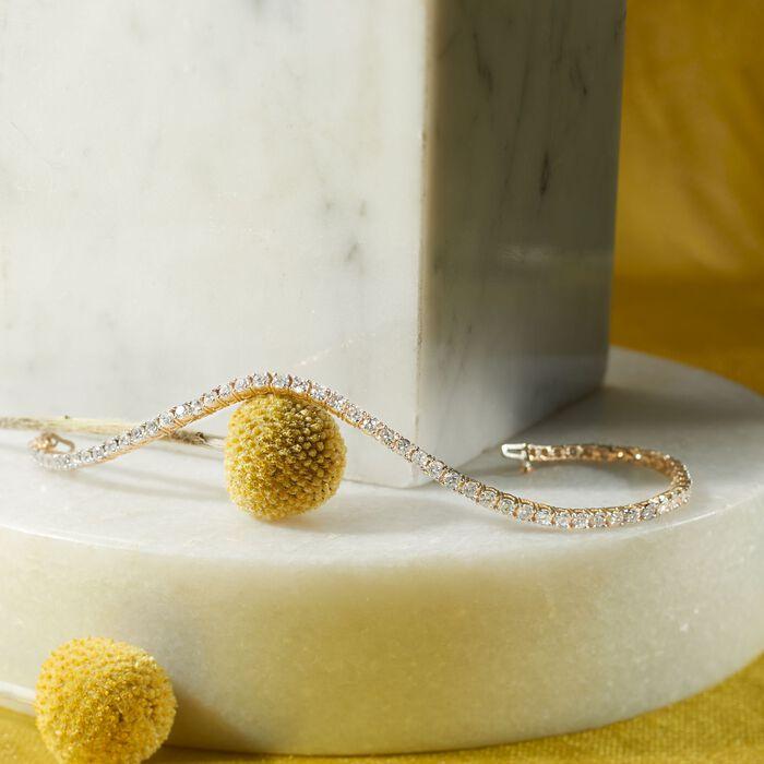 5.00 ct. t.w. Diamond Tennis Bracelet in 14kt Yellow Gold