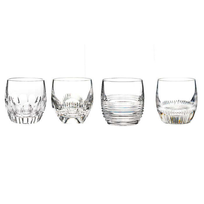 """Waterford Crystal """"Mixology Mixed"""" Set of 4 Tumbler Glasses, , default"""