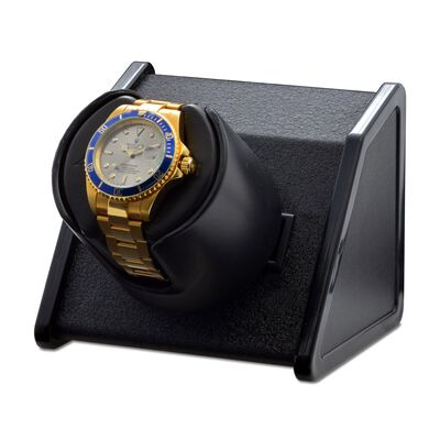 """Sparta"" Black Single Watch Winder by Orbita, , default"