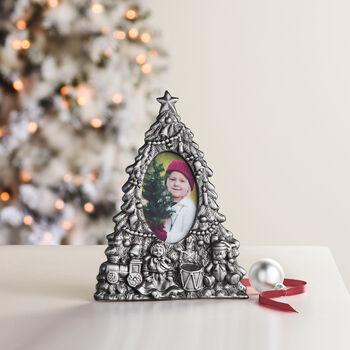 Reed & Barton Christmas Tree Frame 3x5, , default
