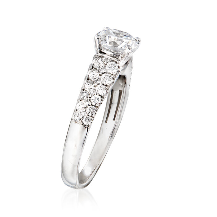 Simon G. .48 ct. t.w. Diamond Engagement Ring in 18kt White Gold