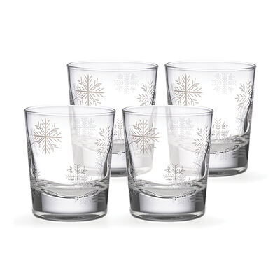 "Lenox ""Alpine"" Set of 4 Double Old-Fashioned Glasses, , default"
