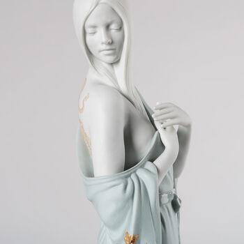 "Lladro ""Beauty with Dragon Tattoo"" Porcelain Figurine"