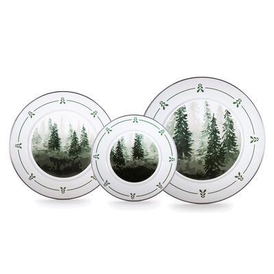 "Golden Rabbit ""Forest Trees"" Dinnerware, , default"