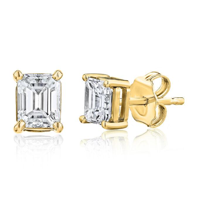 .48 ct. t.w. Diamond Stud Earrings in 14kt Yellow Gold