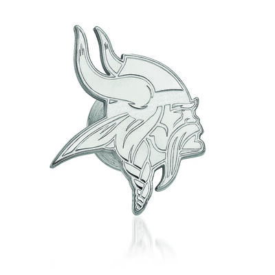 Sterling Silver NFL Minnesota Vikings Lapel Pin, , default