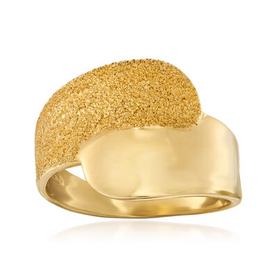 Italian 18kt Gold Over Sterling Ring, , default