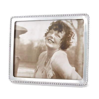 "Mariposa ""String of Pearls"" 8x10 Beaded Photo Frame"