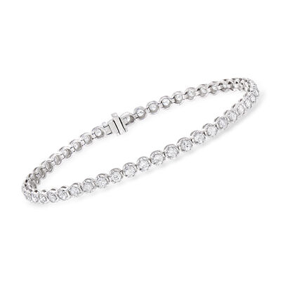 3.00 ct. t.w. Diamond Tennis Bracelet in 14kt White Gold, , default