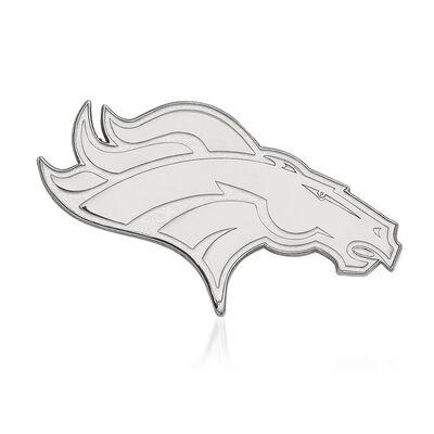 Sterling Silver NFL Denver Broncos Lapel Pin, , default