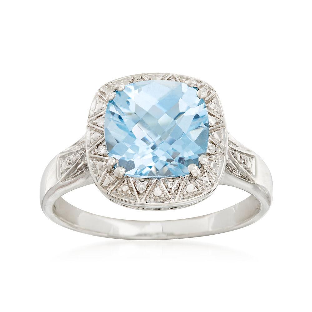 baf0fb14b 3.50 ct. t.w. Blue Topaz Ring in Sterling Silver | Ross-Simons