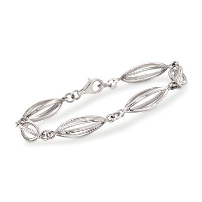 "Zina Sterling Silver ""Pod"" Bracelet, , default"