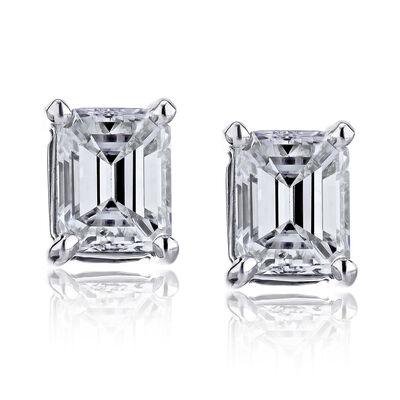 2.90 ct. t.w. Certified Diamond Stud Earrings in Platinum, , default
