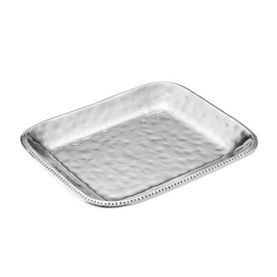 "Wilton Armetale ""River Rock"" Large Rectangular Tray, , default"