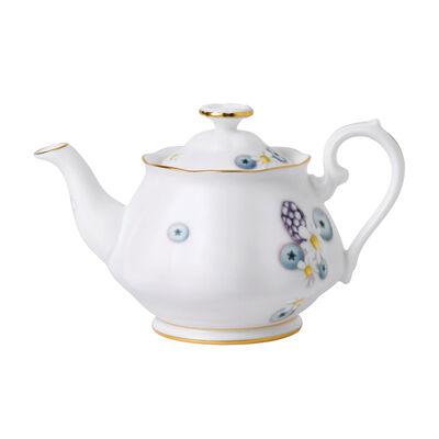 """Royal Albert """"Alpha Foodie"""" Mini Teapot in Pink, , default"""