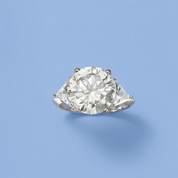 7.50 ct. t.w. CZ Ring in Sterling Silver, , default