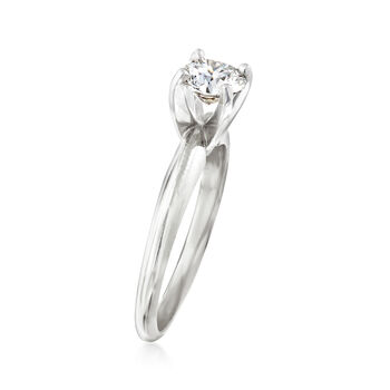.71 Carat Certified Diamond Solitaire Engagement Ring in 14kt White Gold, , default
