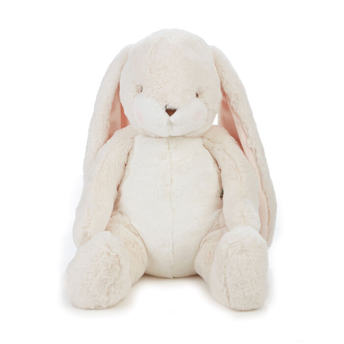 "Bunnies by the Bay Big Nibble 20"" Plush Bunny - Cream, , default"
