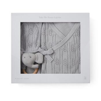 "Elegant Baby ""Coming Home"" 5-pc. Gray Newborn Set, , default"