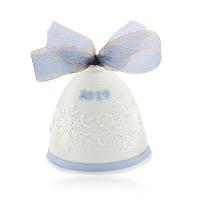 Lladro 2019 Annual Porcelain Bell Ornament, , default
