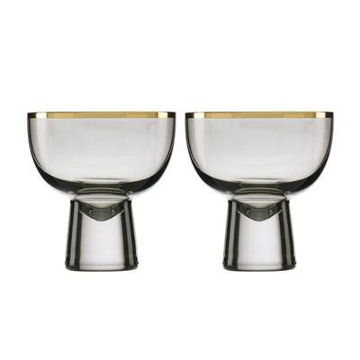 Trianna Slate 2-Piece Cocktail Glassware Set, , default