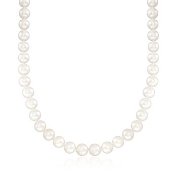 "8-9mm Cultured Pearl Endless Necklace. 36"", , default"