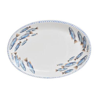 Abbiamo Tutto Italian School of Fish Ceramic Serving Platter