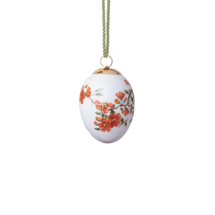"""Royal Copenhagen """"Spring"""" 2020 Quince Porcelain Easter Egg, , default"""