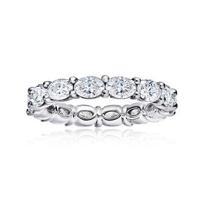3.25 ct. t.w. Diamond Eternity Wedding Band in Platinum, , default