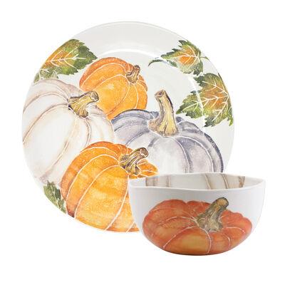 Vietri Pumpkin Serving Bowl from Italy