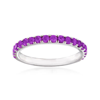 .50 ct. t.w. Amethyst Ring in Sterling Silver, , default