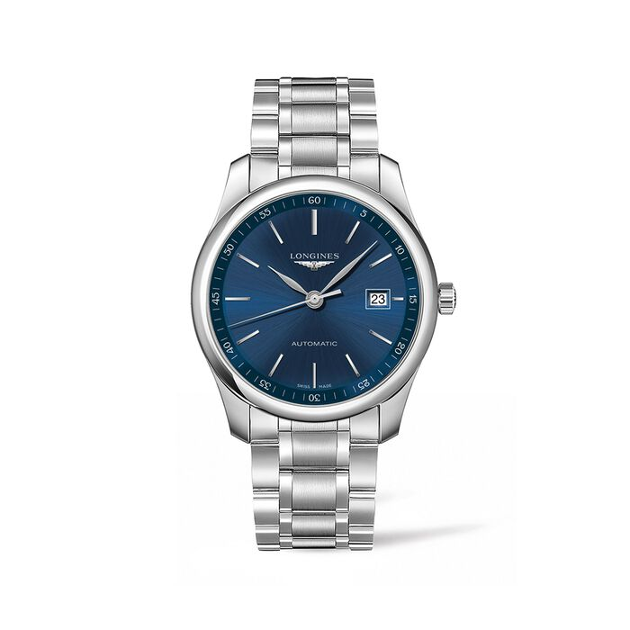 Longines Master Men's 40mm Automatic Stainless Steel Watch - Blue Dial