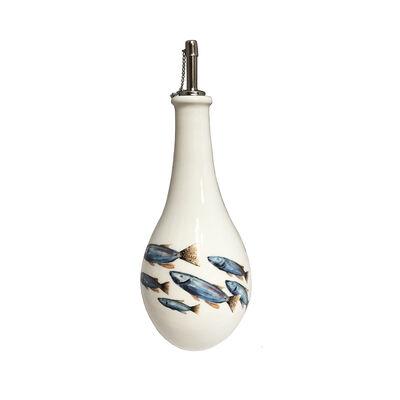 Abbiamo Tutto Italian School of Fish Ceramic Oil Cruet, , default
