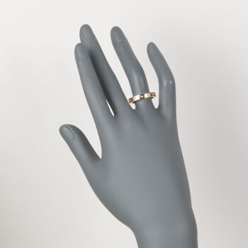 "Roberto Coin ""Pois-Moi"" 18kt Yellow Gold Dotted Ring. Size 7, , default"