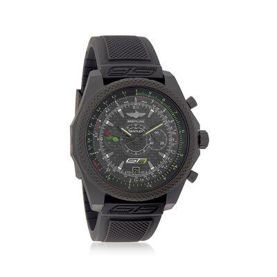 Breitling Bentley Gt3 Midnight Carbon Men's 49mm Auto Chronograph Black Titanium Watch, , default